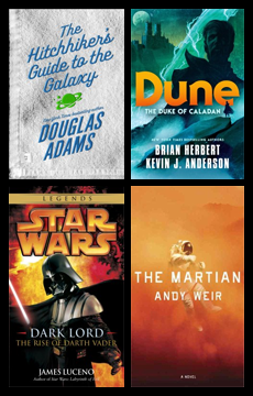 Science Fiction Day Virtual Display of Books