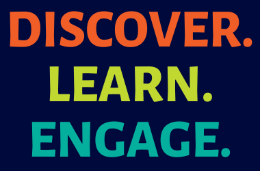 Discover. Learn. Engage.