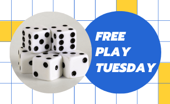 Free Play Tuesday at the Library