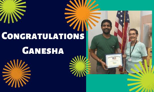 Congratulations Ganesha