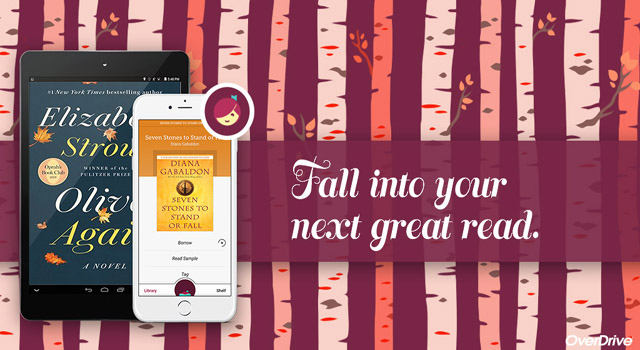 Fall into your next great read with the Libby App