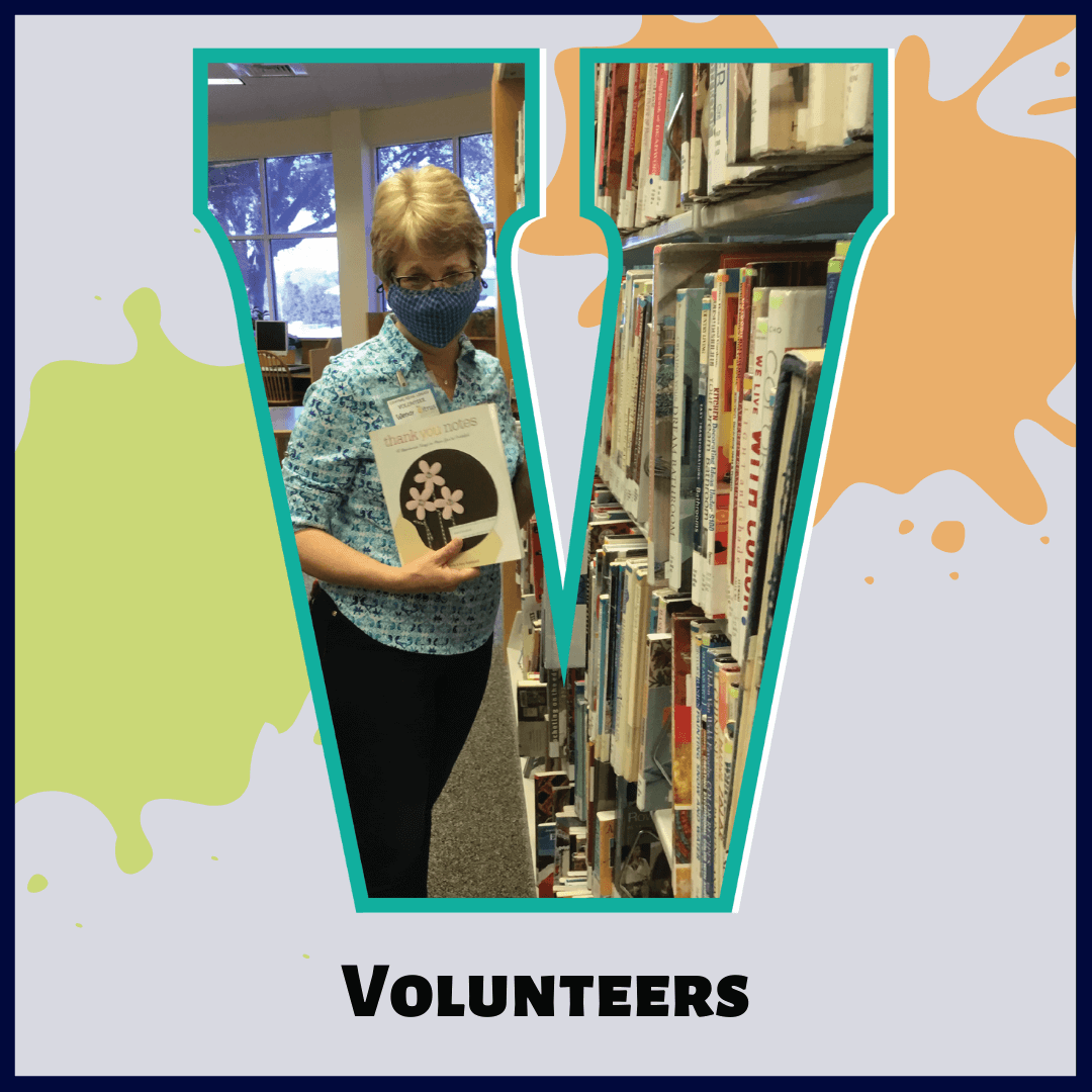 V is for Volunteers