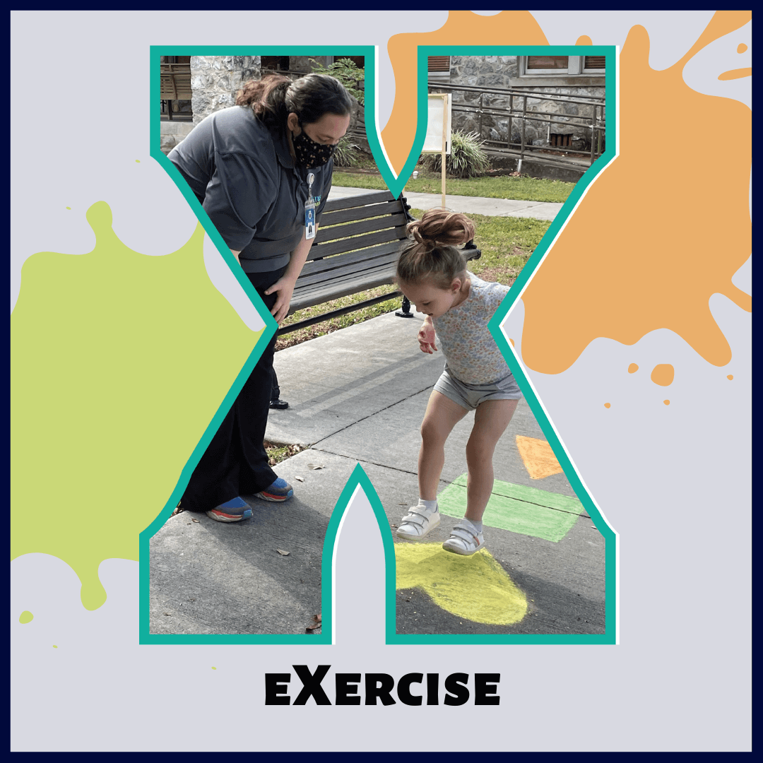 X is for eXercise