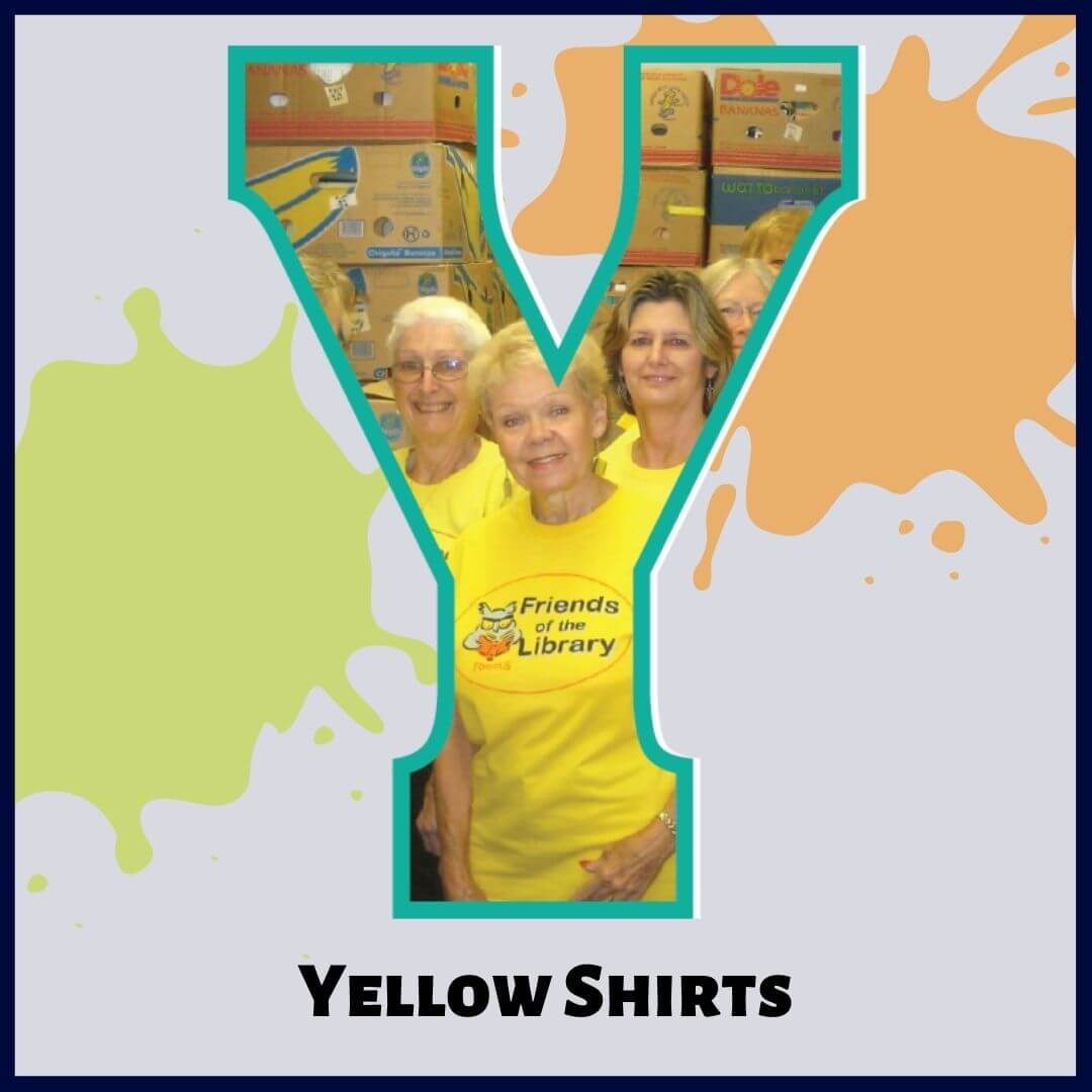 Y is for Yellow Shirts